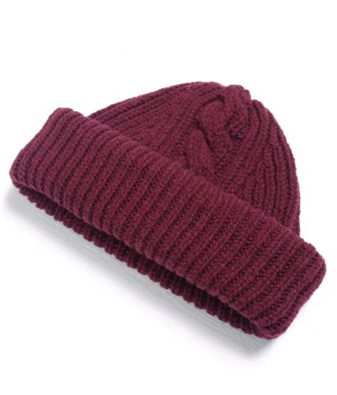 wohnungen altenburg maroon knit beanie maroon knit embroidered beanie 90 s