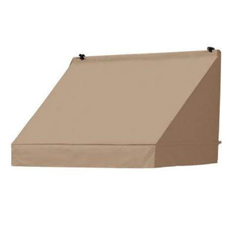 new in open box home classics 4 quot memory foam mattress awnings in a box 4 ft classic manually retractable awning