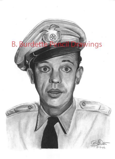 Ppencil Barney barney fife pencil drawing