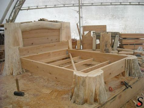 how to make a log bed other log and timber projects by sitka log homes log and