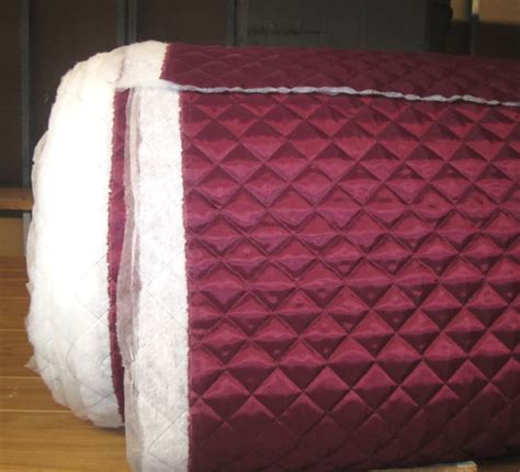 Quilt Lining by New Burgundy Quilted Poly Lining Fabric Ebay