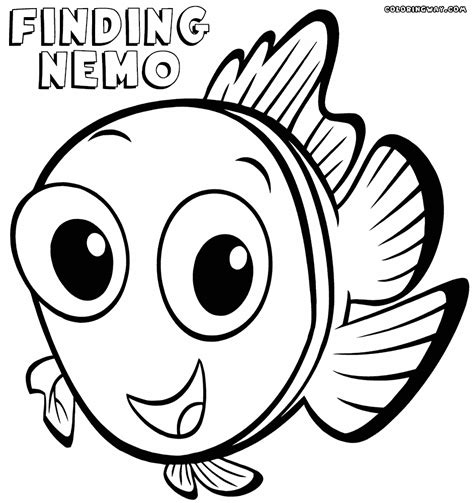 nemo coloring pages nemo free colouring pages