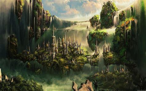 wallpaper abyss fantasy city fantasy city art id 89447 art abyss