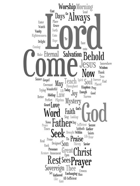 songs with in the title wordle of titles to hymns and songs by ken puls