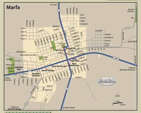 marfa texas on map marfa tx maps my