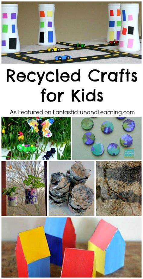 recycling crafts for to make recycled crafts for for preschoolers to create