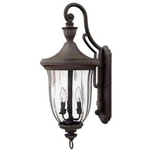 Large Wall Sconce Lighting Buy The Oxford Large Outdoor Wall Sconce