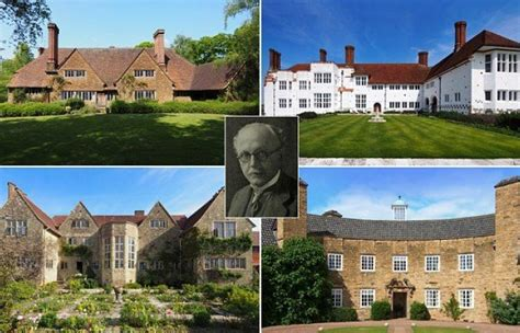 sir edwin lutyens the arts crafts houses books sir edwin lutyens creations and architecture