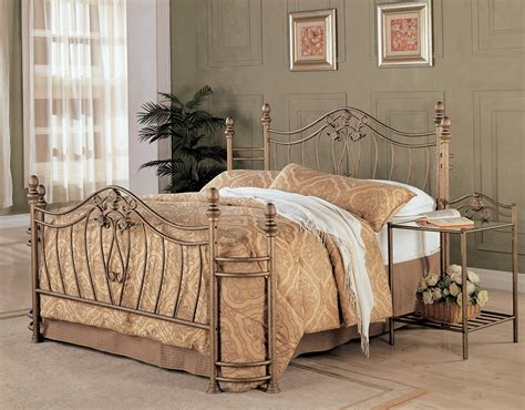 gold bedroom furniture sydney antique brushed gold bedroom set from coaster