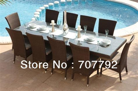 Outdoor Dining Tables For 10 Get Cheap 10 Seat Outdoor Dining Table Aliexpress