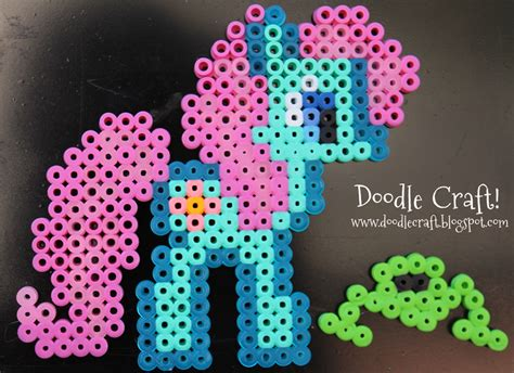 bead my doodlecraft more my pony perler