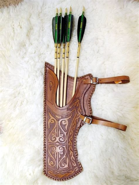 Handmade Leather Quivers - 25 best ideas about leather quiver on quiver