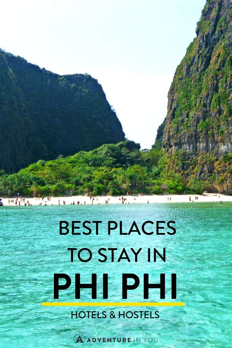 places  stay   phi phi islands thailand