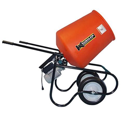 electric cement mixer rental the home depot