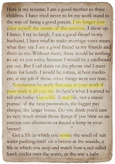 Quot A Short Guide To A Happy Life Quot By Anna Quindlen