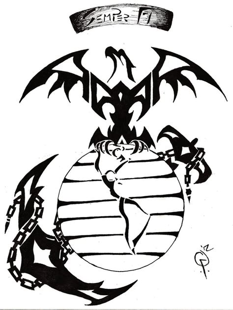 tribal marine corps tattoos www tattoodonkey 521 web server is