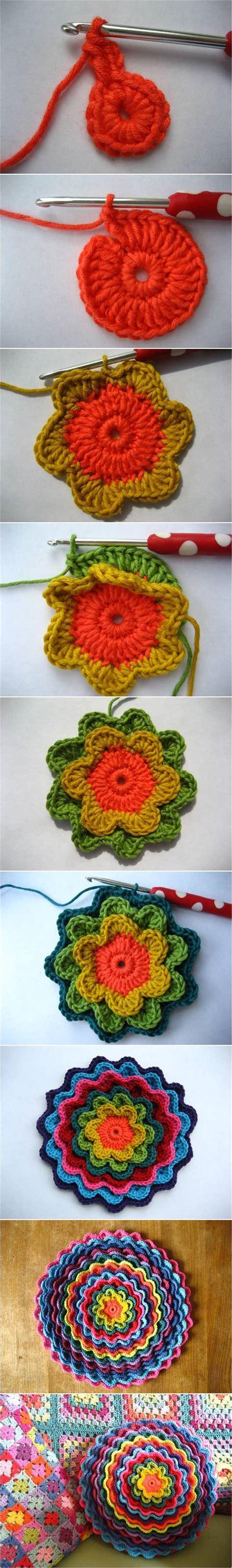 Bloomen Flowers Diy by Diy Crochet Blooming Flower Cushion