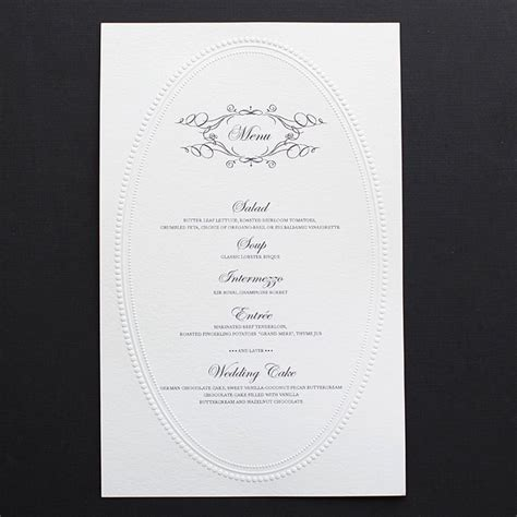 Free Printable Wedding Menu Card Templates by Free Printable Wedding Invitation Templates