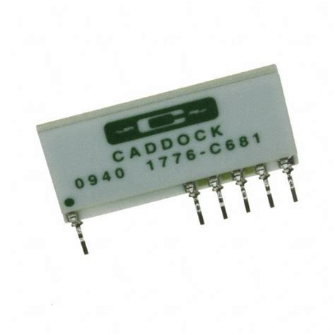1776 c681 caddock electronics inc resistors digikey