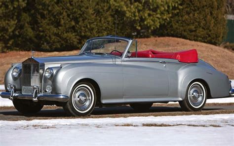 rolls royce vintage convertible 1960 convertible coup 233 by h j mulliner chassis lswc68