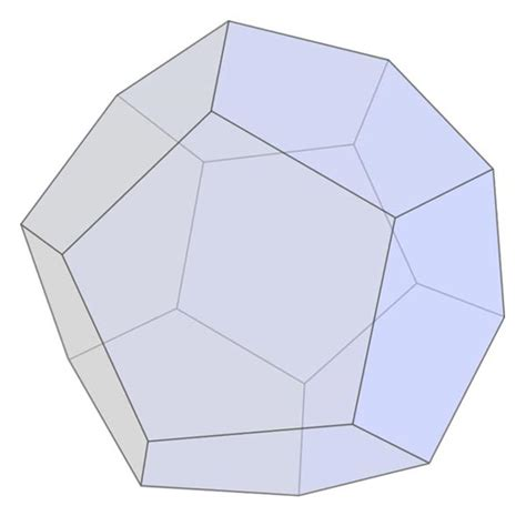 best photos of solid model of pentagonal dodecahedron