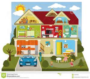 Indoors clipart inside the house illustration 41859964 megapixl
