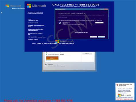 windows 10 help desk number tech support scams windows defender security intelligence