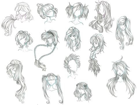 10 of the most ridiculous anime hairstyles in existance drawing anime hairstyles how to draw female anime pencil
