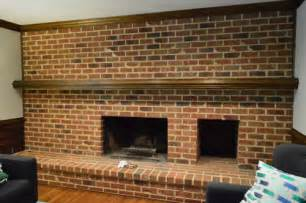 Lowes Bathroom Remodel Ideas by How To Whitewash A Brick Wall Or Fireplace Young House Love