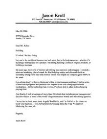 sle format for cover letter cover letter format creating an executive cover letter