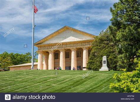 we buy houses arlington arlington house the custis lee mansion and former home of robert e stock photo