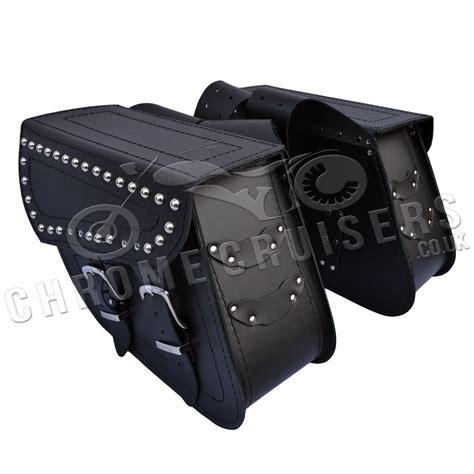 Handmade Leather Saddlebags - motorcycle leather saddlebags panniers harley davidson