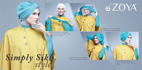 tutorial buat turban tutorial hijab modern turban terbaru 2016