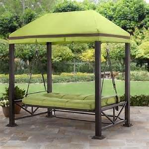Patio Swing Green Garden Backyard Porch Green Patio Furniture Hanging