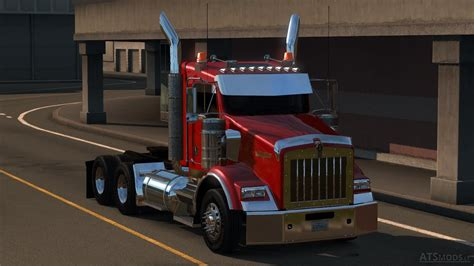 ken worth kenworth t800 2016 edit v 2 0 american truck simulator mods