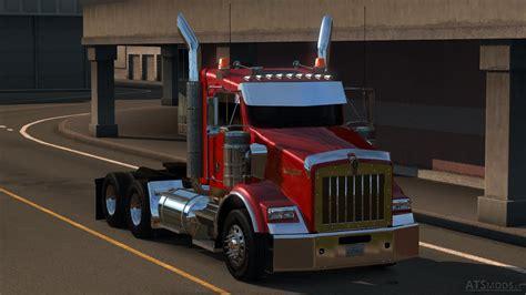 trailer kenworth 2016 kenworth t800 2016 edit v 2 0 american truck simulator mods