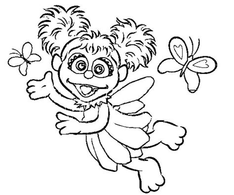Abby Cadabby Coloring Pages abby cadabby coloring page coloring home