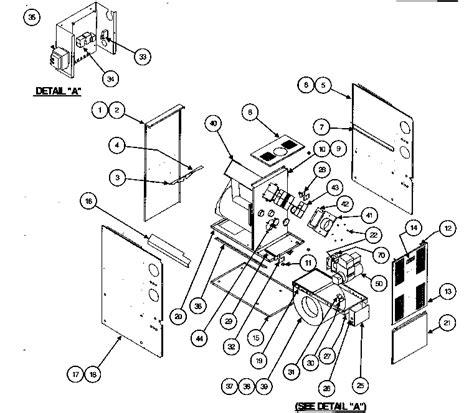 carrier furnace parts diagram cabinet parts diagram parts list for model 58cma12012120