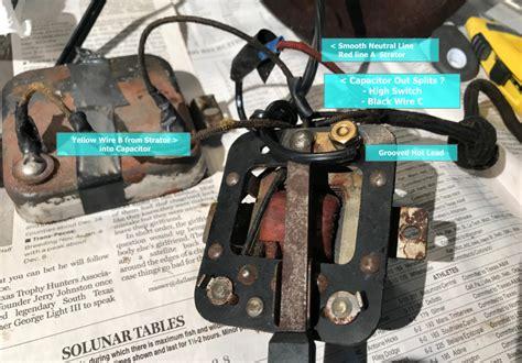 wiring confusion ee apg pre  antique antique fan collectors association afca forums