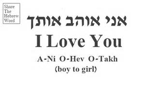 hebrew word share the hebrew word