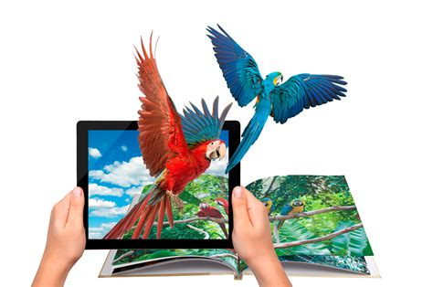 augmented reality augmented reality books embodying tales in life