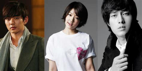 so ji sub and yoo seung ho yoo seung ho gives park shin hye a sweet kiss in so ji sub