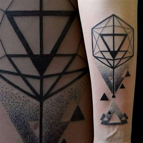 figuras geometricas tattoo 17 best images about icosahedron tattoos on pinterest