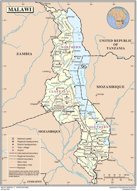 Malawi Country Profile United Nations