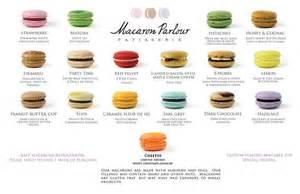 macaron flavors macarons pinterest