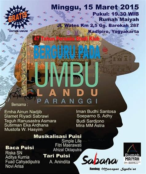Buku Novel Benang Merah indonesia sastra umbu
