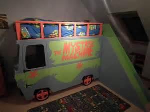 scooby doo bedroom scooby doo mystery machine bed on etsy 1 163 87