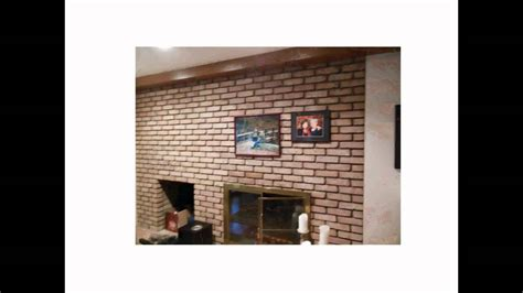 how to stick something to a wall without damage how to hang stuff easily on a brick wall or fireplace