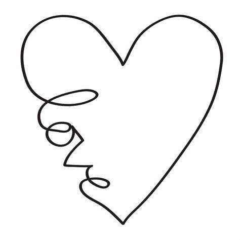 heartbeat tattoo template small heart shape template clipart best