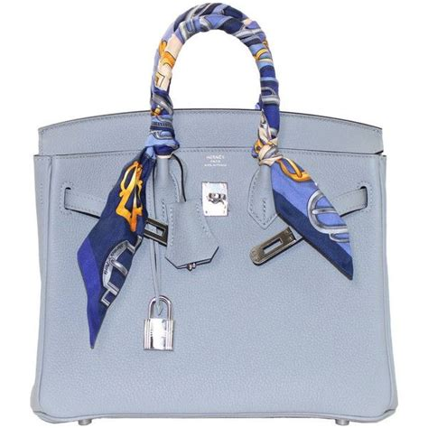 Lindy Togo 25cm hermes glacier blue togo 25 cm birkin bag new color 1 444 640 rub liked on polyvore featuring